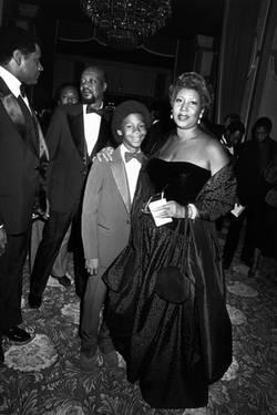 Aretha Franklin And Her Son, Jeraldine