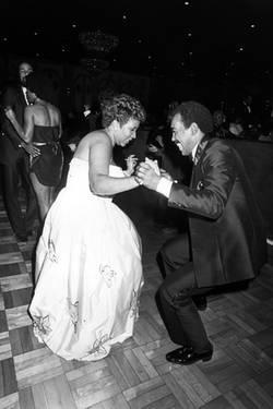 Aretha Franklin Dancing With Check Jackson