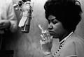 Aretha Franklin In The Recording Studio