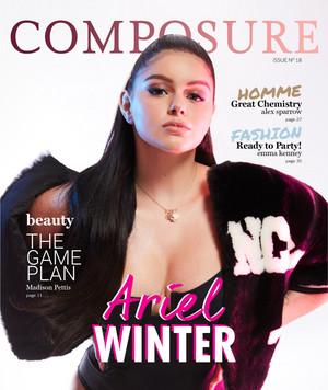 Ariel Winter - Composure Magazine Cover - 2018