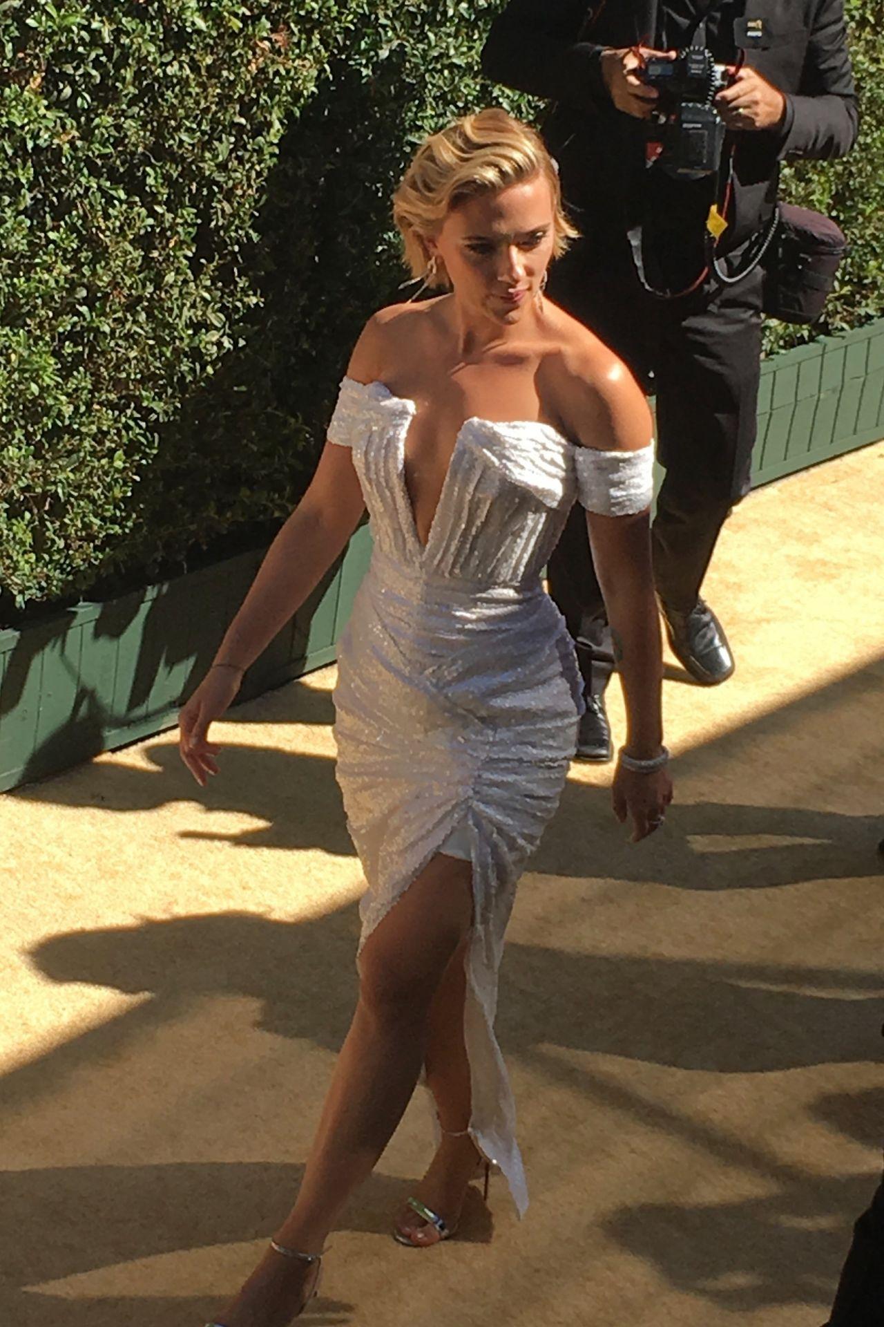 Arriving At 2018 Emmy Awards