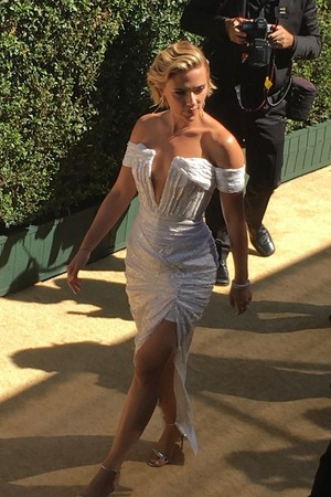 Arriving At 2018 Emmy Awards