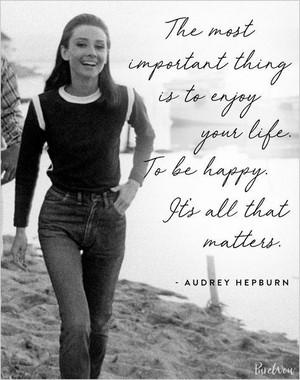 Audrey Hepburn Quotes❤️