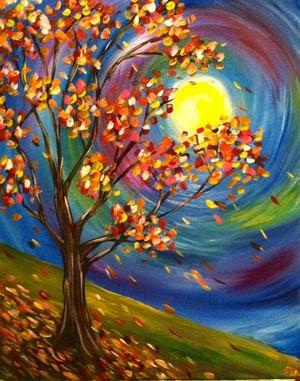 Autumn 树