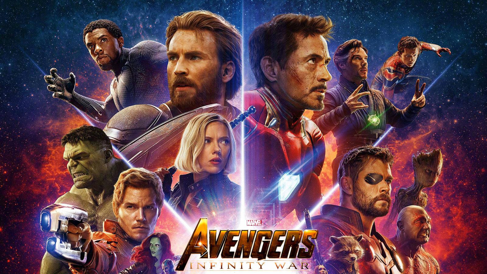 Avengers: Infinity War 1 & 2 wallpaper