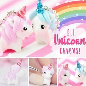 BFF Unicorn Charms FB Square