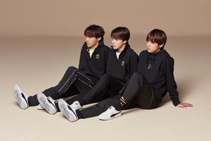 防弾少年団 FOR PUMA BASKET💖