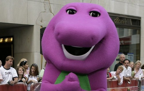 Barney the Purple Dinosaur Обои called Barney the Dinosaur 1 920x584