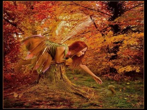 Beautiful Autumn Fairy 🍂