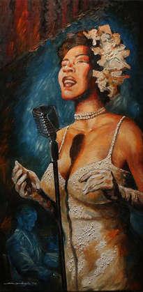 cherl12345 (Tamara) fondo de pantalla entitled Billie Holiday