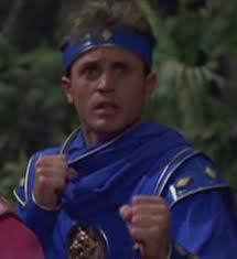 Billy Blue Mighty Morphin Ranger 4