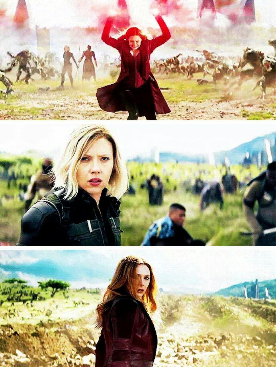 Black Widow And Scarlett Witch Avengers Infinity War 1 2 Foto 41586162 Fanpop Page 102