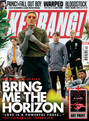 Bring Me The Horizon at Kerrang Magazine Cover