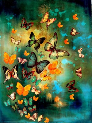 butterfly, kipepeo Swarm