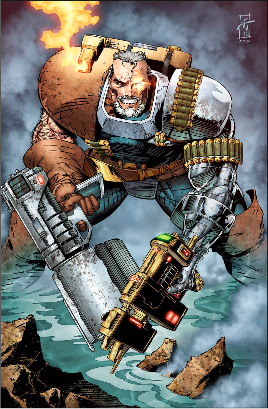 Cable Marvel Comics Images Cable Hd Wallpaper And Background