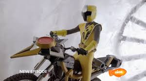 Calvin Morphed As The Yellow Ninja Steel Ranger