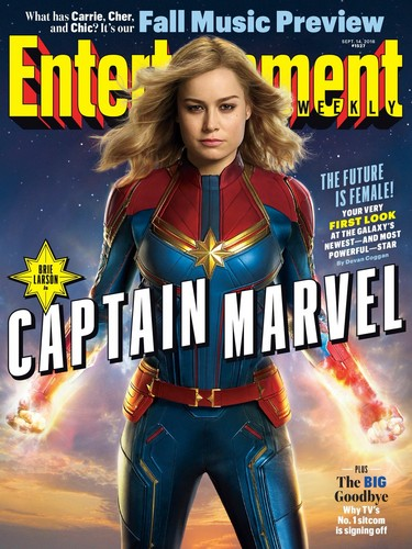 Marvel's Captain Marvel fond d'écran titled Captain Marvel - First Look photo