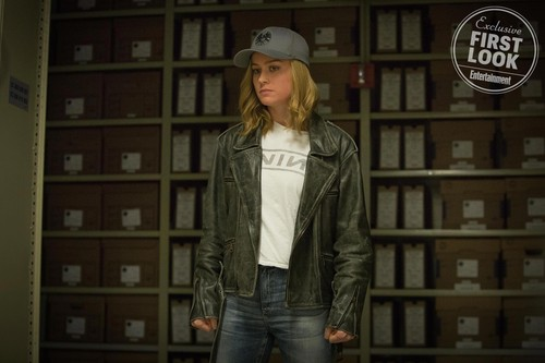 Marvel's Captain Marvel Обои called Captain Marvel - First Look фото