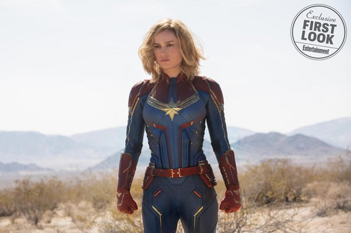 Marvel's Captain Marvel wallpaper called Captain Marvel - First Look Photos