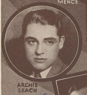Cary Grant on a casting card