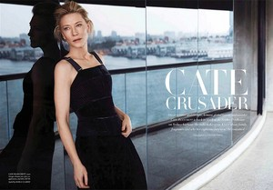 Cate Blanchett for Harper's Bazaar Australia [September 2018]