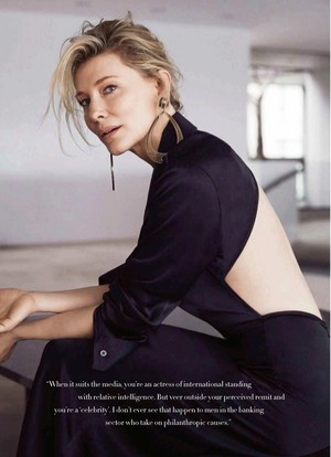 Cate Blanchett for Harper's Bazaar Australia [September 2018]