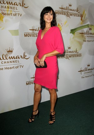 Catherine sino at Hallmark Event TCA Summer Tour