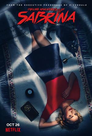 Chilling Adventures of Sabrina Poster - Sabrina and Salem