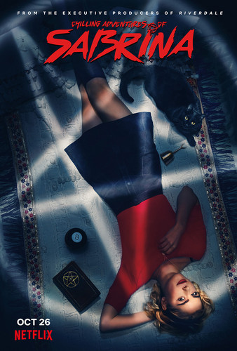 Chilling Adventures of Sabrina wallpaper called Chilling Adventures of Sabrina Poster - Sabrina and Salem