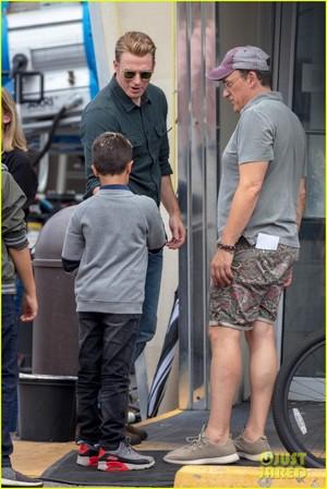 Chris Evans, Paul Rudd and Scarlett Johansson Film 'Avengers 4' in Atlanta!