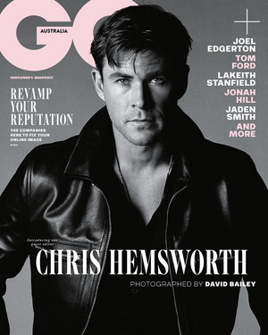 Chris Hemsworth - GQ Australia Cover - 2018