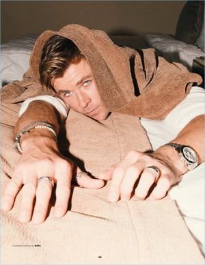Chris Hemsworth for Esquire Singapore [August 2018]