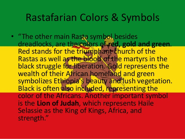 Cherl12345 Tamara Bilder Color And Symbol Of Rastafarianism