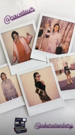 Coveteur photoshoot 2018 BTS