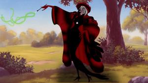 Cruella De Vil's Red Outfit