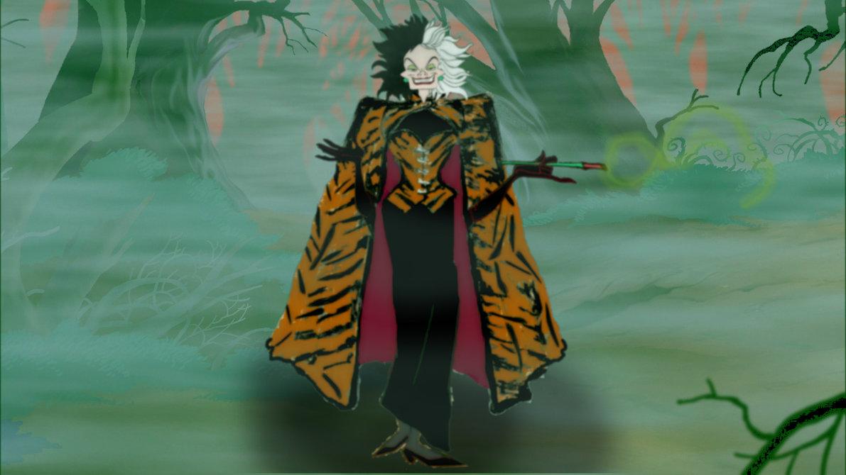 Cruella De Vil's Tiger-Skinned Outfit