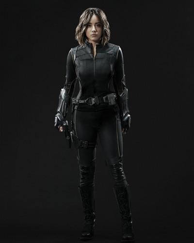 Skye (Agents Of S.H.I.E.L.D) 바탕화면 entitled 데이지 Johnson