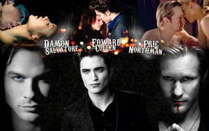 Damon, Edward and Eric