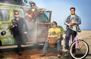 Danny McBride, Seth Rogen, James Franco and Jonah পাহাড় - Rolling Stone Photoshoot - 2013