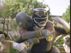 Danny Morphed As The Black Wild Force Ranger