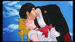 Darien and Serena as Tuxedo Mask and Sailor Moon 2
