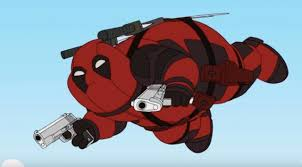 Peter Griffin Обои called Deadpool and Family Guy