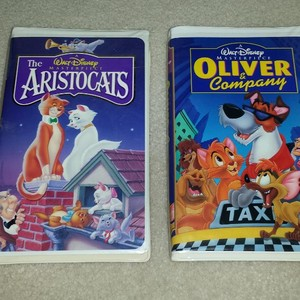 Disney Cartoons On Videocassette