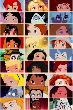 Disney Girls Eyes
