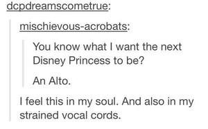 디즈니 Princess Alto