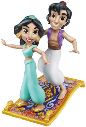 disney Princess Comic Action Figure por Hasbro Toys - jasmim and aladdin