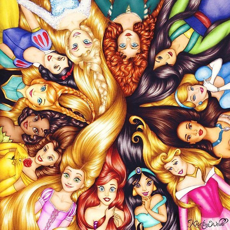 Disney Princess Princesses Disney Fan Art 41588249 Fanpop