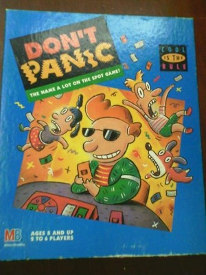 Don't Panic Box Art