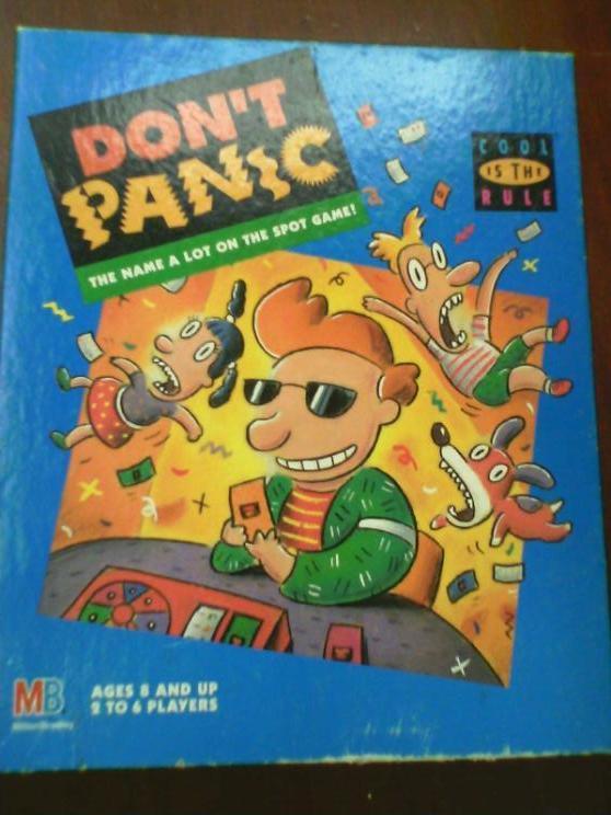 Don't Panic Box Art