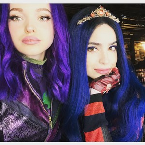 Dove and Sofia carson